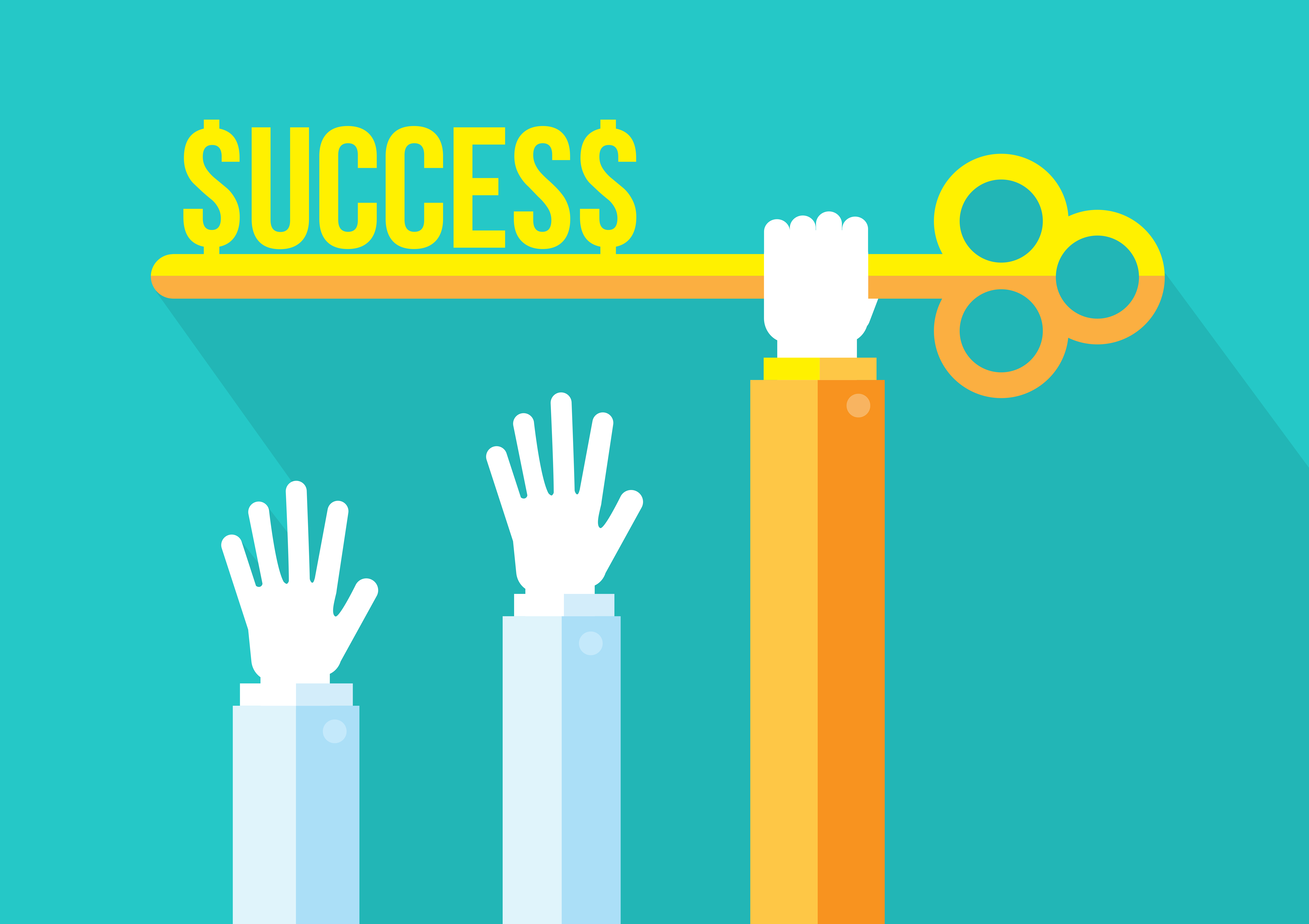 Business Competition Leadership And Key To Success